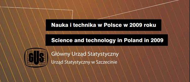 Raport GUS - nauka i technika