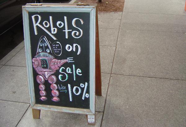 Robot price (robot cena)