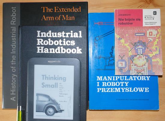 książka robotyka