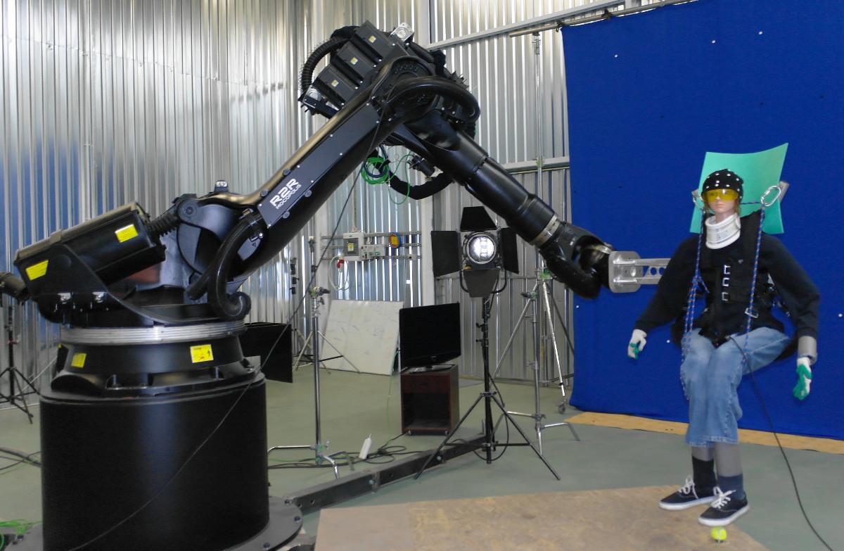 Industrial robot - movie VFX
