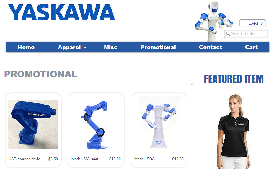yaskawa motoman online store
